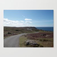 The Long Road Canvas Print