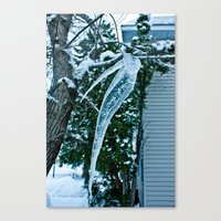 Wicked Icicle  Canvas Print