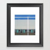 Building Framed Art Print