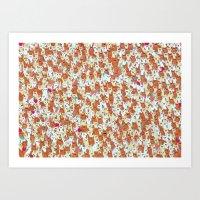 Hamster mash Art Print