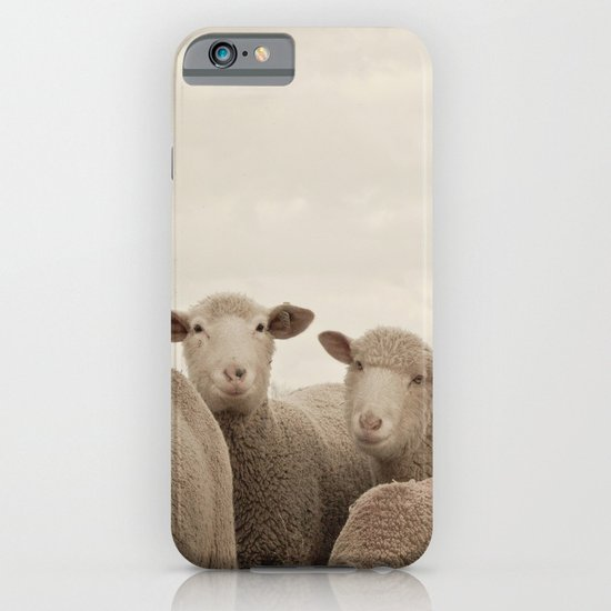 Smiling Sheep  iPhone & iPod Case