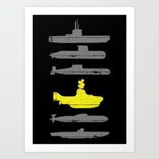Know Your Submarines Art Print