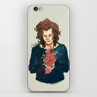 Roses on Your Hands iPhone & iPod Skin