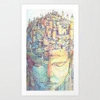 Fondamenta Art Print