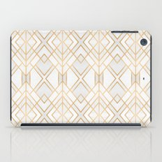 Golden Geo iPad Case