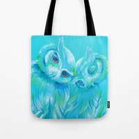 Lovey Owls Tote Bag
