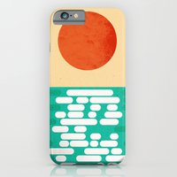 Sun over the sea iPhone 6 Slim Case