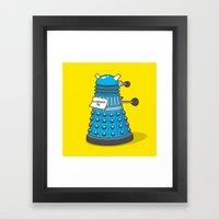 Exterminate Me Variant (Dr Who) Framed Art Print