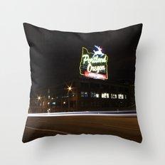 White Stag/Made in Oregon/Portland, Oregon Throw Pillow