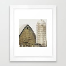 Storybook Barn Framed Art Print