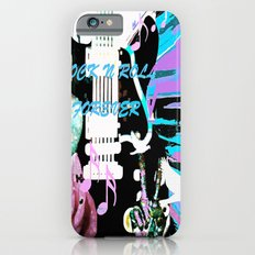 Peace Love And Rock N Ro… iPhone 6 Slim Case