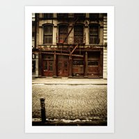 Greene Street SoHo Art Print