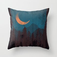 Those Summer Nights... Throw Pillow