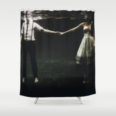 abyss of the disheartened : IX Shower Curtain