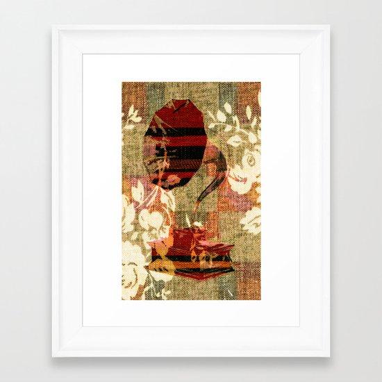 Dueling Phonographs VII Framed Art Print