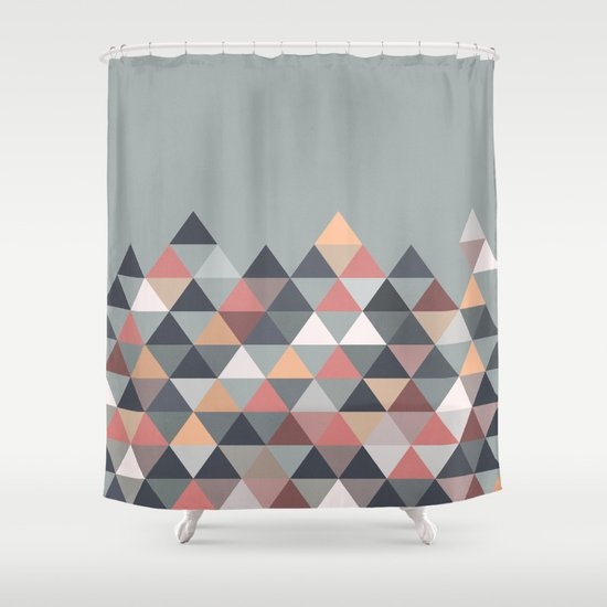 Nordic Combination IV Shower Curtain