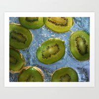 Totally Tropical. Art Print