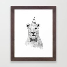 Get the party started Framed Art Print