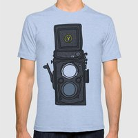 Yashica Mens Fitted Tee Athletic Blue SMALL