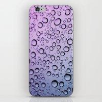 Drops Of Blurple iPhone & iPod Skin
