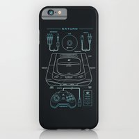iPhone & iPod Case featuring Saturn by MeleeNinja