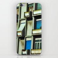 City balconies iPhone & iPod Skin