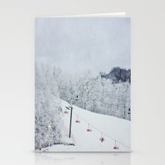Early Morning Run Stationery Cards