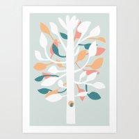 Prosperi - Tree Art Print