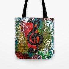 Create Music  Tote Bag