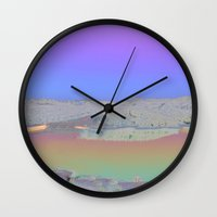 Chromascape 3: Cyprus Wall Clock