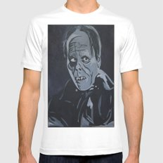 Phantom of the Opera SMALL White Mens Fitted Tee