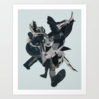 Kissing the Jaws of Life Art Print