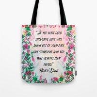 Roald Dahl Tote Bag