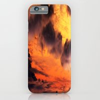 iPhone & iPod Case featuring Golden Sky by Amy Sia