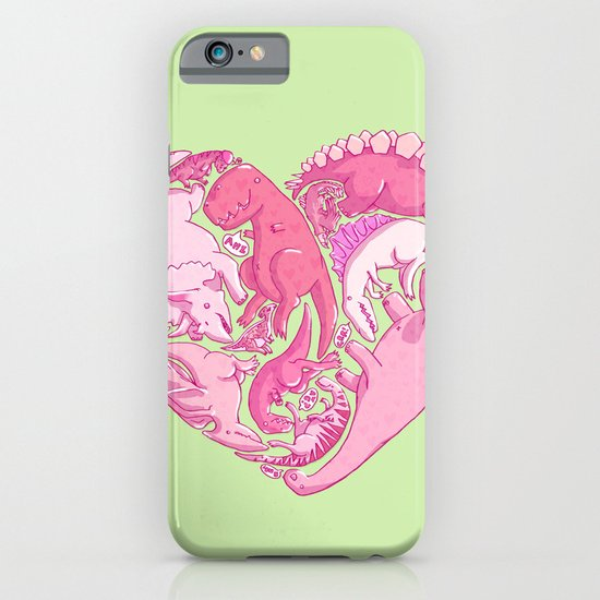 Loveasaurus iPhone & iPod Case