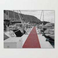 Spanish Harbour Canvas Print