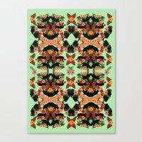 Panther Pattern  Canvas Print