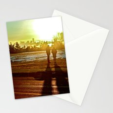 A Mix Of Sun And Snow Stationery Cards