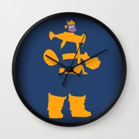The Overmaster (Thanos) Wall Clock