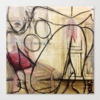 Boudoir Canvas Print