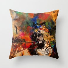 Untamed Passion Throw Pillow