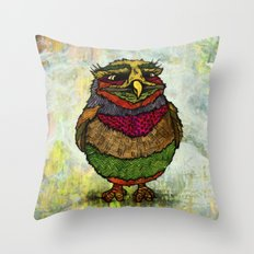 Owly Throw Pillow