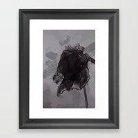 leaf four Framed Art Print