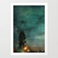 When The Carnival Comes … Art Print