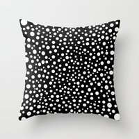Polka Lunar Throw Pillow