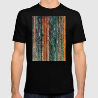 Trunks of Trees Mens Fitted Tee Black SMALL