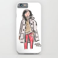 iPhone & iPod Case featuring Duffle Coat by Sophie & Lili