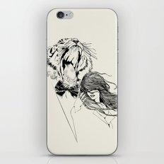 The Tiger's Roar iPhone & iPod Skin