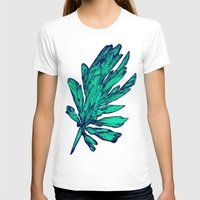 Pine Womens Fitted Tee White SMALL