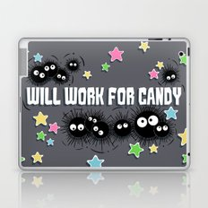 Spirited Soot Laptop & iPad Skin